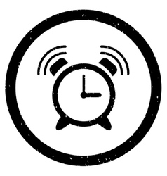 Alarm Clock Ring Rounded Grainy Icon vector
