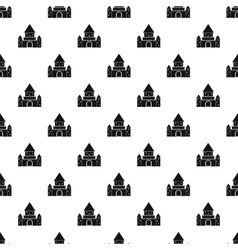 Ancient palace pattern simple style vector
