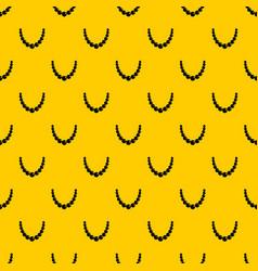 bead pattern vector image