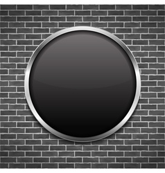 Black Round Frame vector
