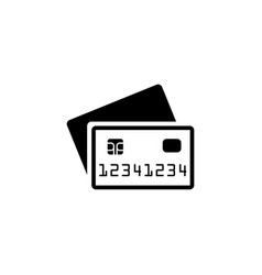 Credit cards payment icon vector