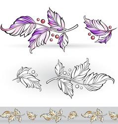 Flora design vector