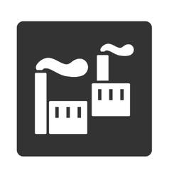 Industry icon vector