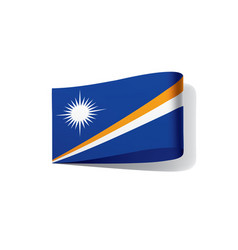 marshall islands flag vector image