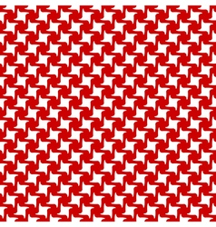 Red white abstract seamless pattern vector