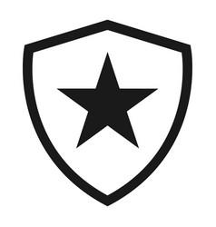 Shield protect icon safety symbol defense logo vector
