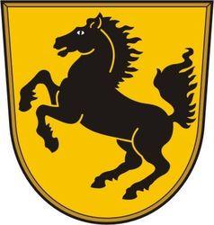 Stuttgart Coat of Arms vector image