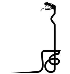 Venomous snake vector