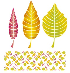 autumn graphic vector image