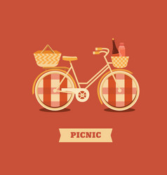 go to picnic vector image vector image