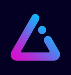 ai letter logo premium design letter ai logo in vector image