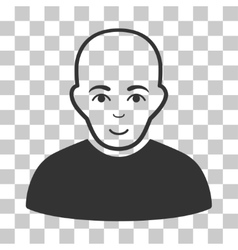 Bald Man Icon vector