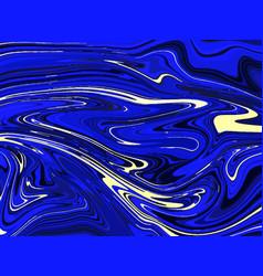 Blue marble abstract background texture indigo vector