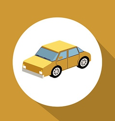 Car travel desing vector
