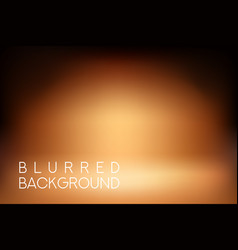 horizontal wide blurred background - sunset colors vector image