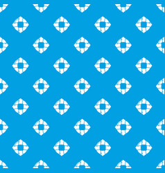 lifebuoy pattern seamless blue vector image