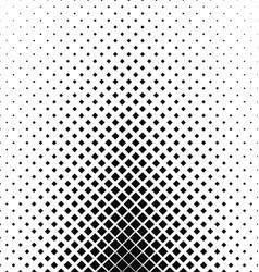 Monochrome square pattern background design vector