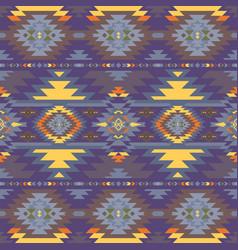Native southwest american aztec navajo seamless vector