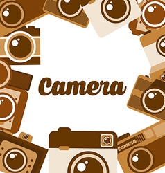 photography concept vector image