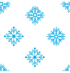 seamless pattern winter vector image