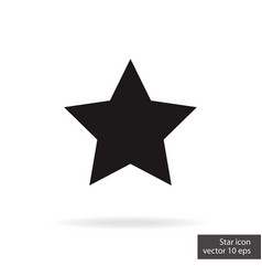 star rating status isolated on white background vector image