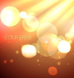 Stylish bokeh lights background vector