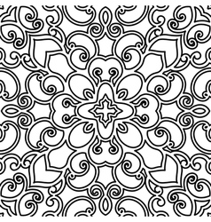 Swirly pattern vector image