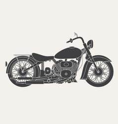 motorbike isolated on white background vector image