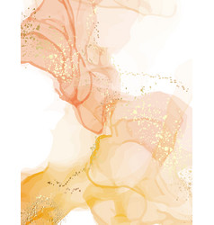 abstract watercolor marble stain texture pastel vector image
