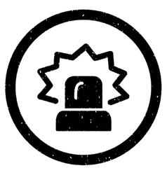Alarm Rounded Grainy Icon vector