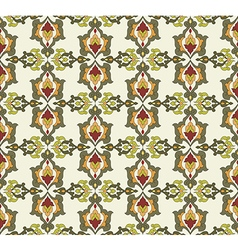 Antique ottoman turkish pattern design thirty two vector