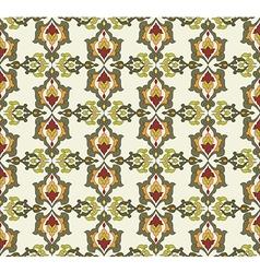 Antique ottoman turkish pattern design thirty two vector