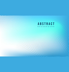 Blue abstract modern background vector