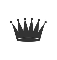 Crown sign vector