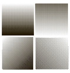 Dots on White Background Halftone Texture vector image