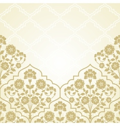 Floral pattern for invitation ard vector image