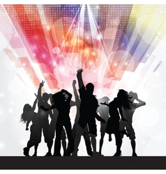 Party people background 1009 vector