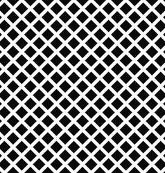 Repeat black white square pattern background vector