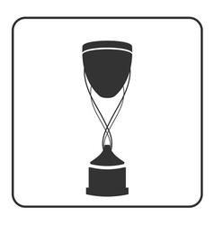 Trophy cup icon 15a vector image