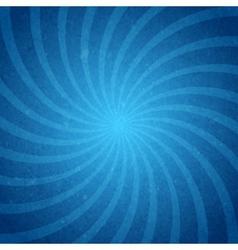 Starburst spiral background vector image