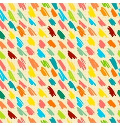 Seamless pattern with doodle stripes vector image vector image