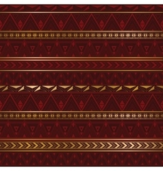 Ethnic texture in burgundy color vector image vector image