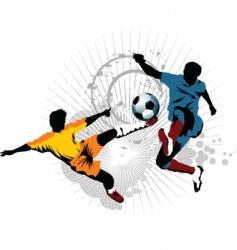 soccer skill vector image vector image