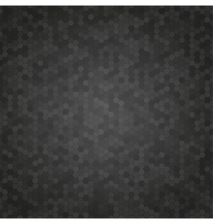 Black Mosaic Tile Honeycomb Background vector