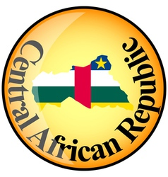 Button Central African Republic vector