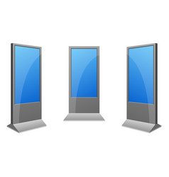 Digital kiosk vector