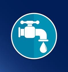 Faucet icon button logo symbol concept vector