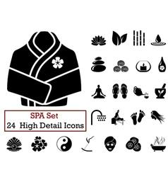 Icon set SPA vector
