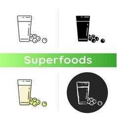 soy milk icon vector image