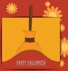 With halloween and halloween monster vector